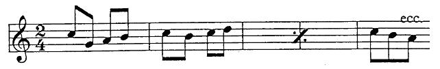 Two Measures repetition