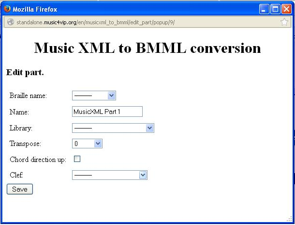 music xml to bmml